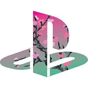 Playstation Logo Blossom