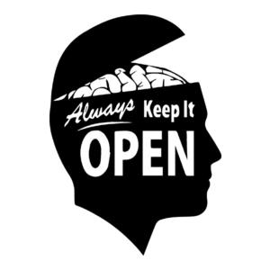 Social Στάμπα Always keep it open