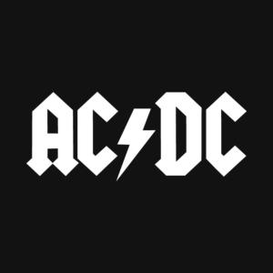 AC-DC - Logo Stamp