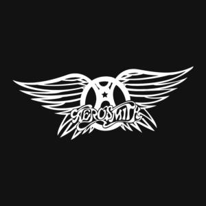 Aerosmith Logo Stamp