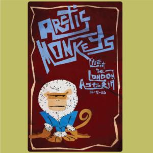 Arctic Monkeys-Poster Tour