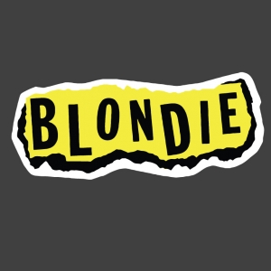 Blondie Logo Stamp