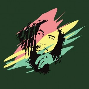 Bob marley 3-color