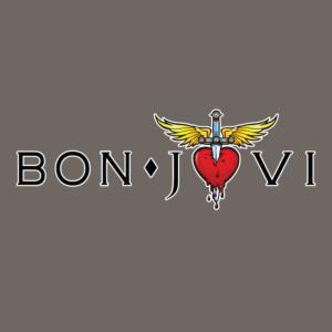 Bon Jovi Logo Stamp