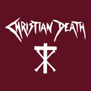 Christian Death - Logo Stamp