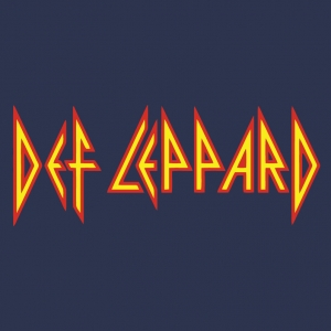 Def Lepard Logo Stamp