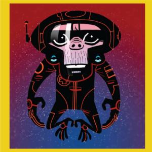 Gorillaz-Monkey