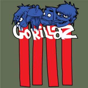 Gorilllaz-Faces