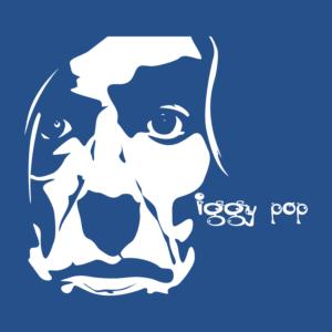 Iggy Pop Portrait