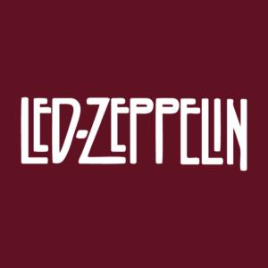 Led Zeppelin Logo Stamp