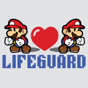 Lifeguard Mario