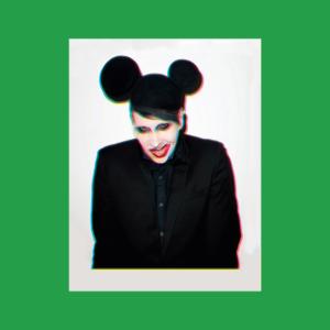 Marilyn Manson - Portrait Stamp 2