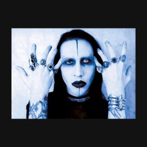 Marilyn Manson - Portrait Stamp 3