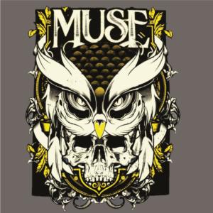 Muse-Owl Skull