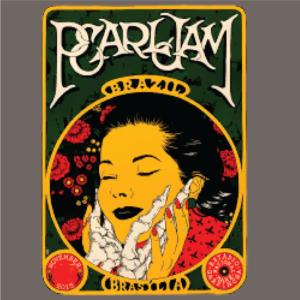 Pearl Jam-Art Nouveau