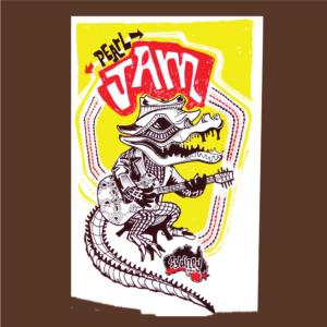 Pearl Jam-Poster