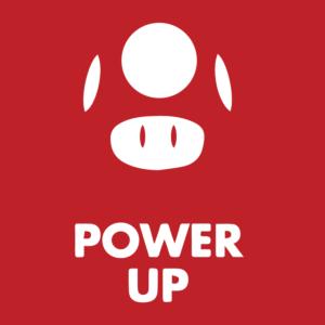 Pwer up Super Mario