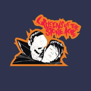 QOTSA Skull Vampire