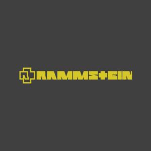 Rammstein - Remmstein Logo Stamp