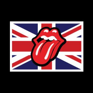 Rolling Stones UK Flag