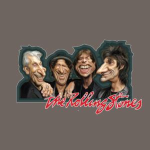 Rolling Stones Caricatures