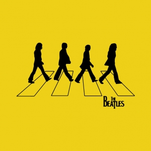 The Beatles Walking