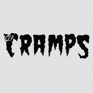 The Cramps - the cramps logo stamp 1