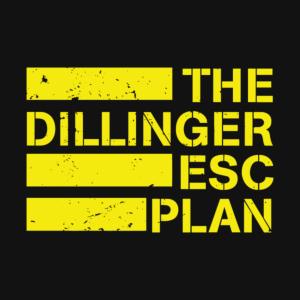 The Dillinger Escape Plan Logo Stamp 1