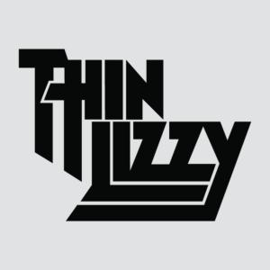 Thin Lizzy Logo Stamp