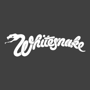 Whitesnake - White Snake Logo Stamp