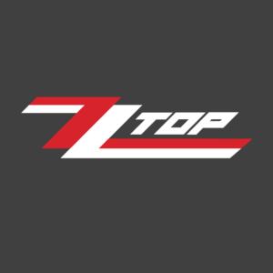ZZ Top Logo Stamp