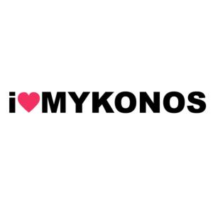 I LOVE MYCONOS-Μύκονος