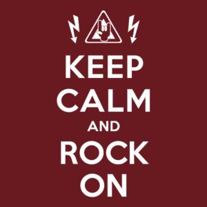 keep calm rock on