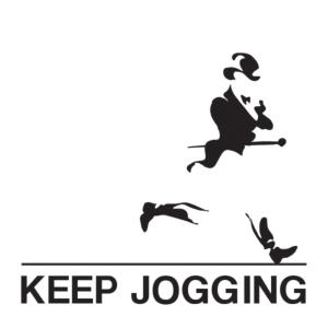 keep jogging