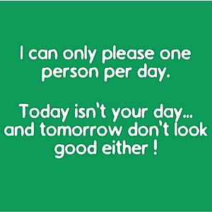 one per day