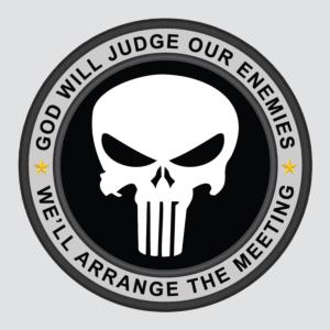 punisher badge