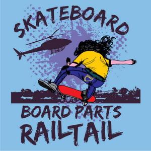 skate rail tail