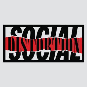 social distrotion - social distrotion BAND-LOGO