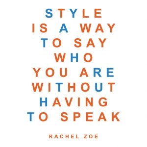 Style is a Way