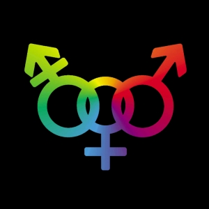 Bisexual Symbol LGBTQ+