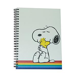 Peanuts Notebook A5 Happy