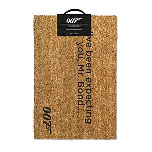 James Bond Doormat I've Been Expecting You 40 x 57cm