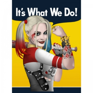 Harley Quinn can do it