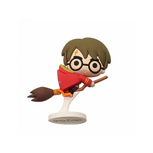Harry Potter Pokis Rubber Minifigure Harry PotterNimbus Red Cape 6 cm