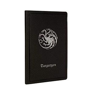 Game of Thrones Ruled Notebook Targaryen