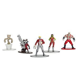 Marvel Comics Nano Metalfigs Diecast Mini Figures5-Pack Guardians of the Galaxy 4 cm