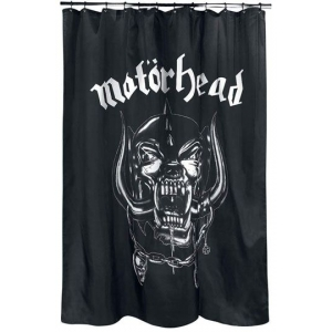 Motorhead Shower Curtain Warpig Logo