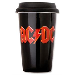 AC/DC Travel Mug Logo