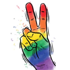 Peace Sign LGBTQ+