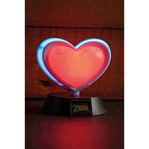 Legend of Zelda 3D Light Heart Container 10 cm